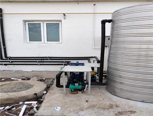 新希望集團新六科技養殖場采暖及熱水係統