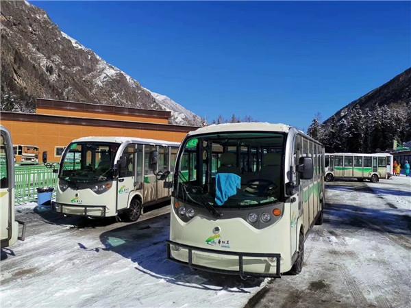 陕西电动观光车受到客户的一致好评
