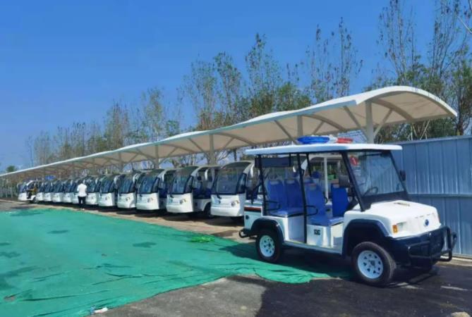 柯阳环保分享电动巡逻车的优点及广泛用途