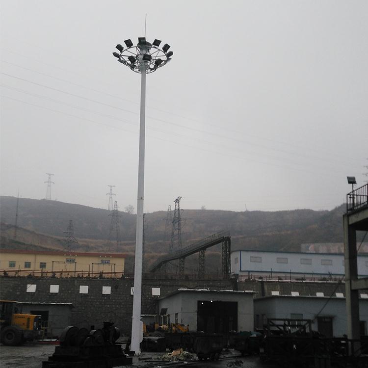 济南某道路太阳能路灯安装