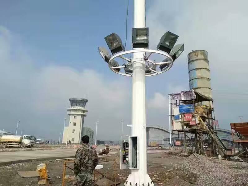 济南公路灯安装完成