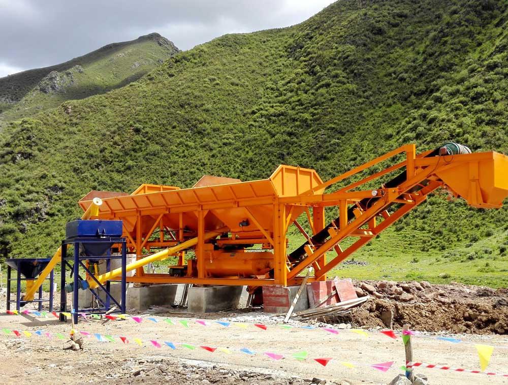 廣漢穩定土廠拌設備