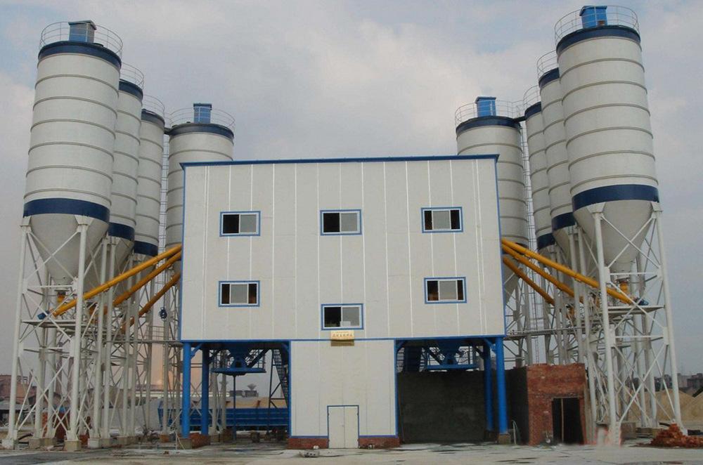 四川混凝土攪拌站設備磨合期如何正確使用
