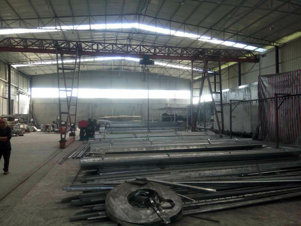 成都铁艺栏杆厂房展示