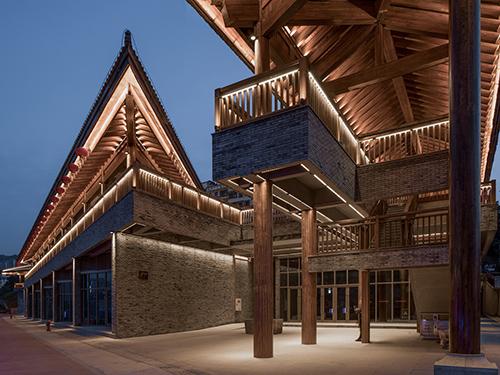 四川胶合木结构房屋成功案例