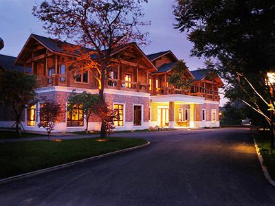 四川胶合木结构房屋