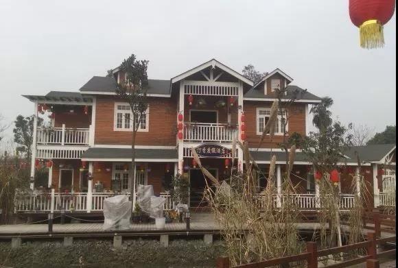 郫县三道堰度假木屋酒店