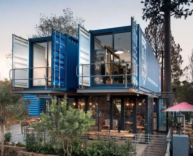 南非集装箱咖啡馆