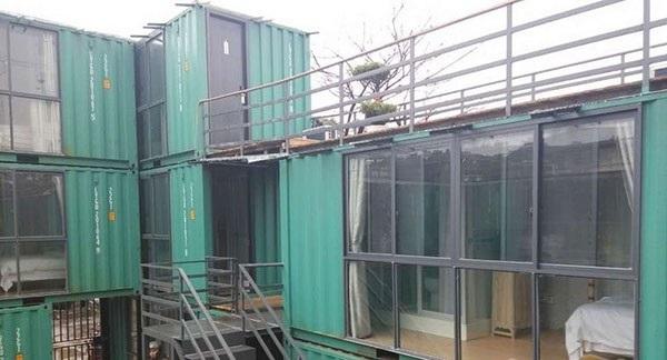 桂林海运集装箱改装