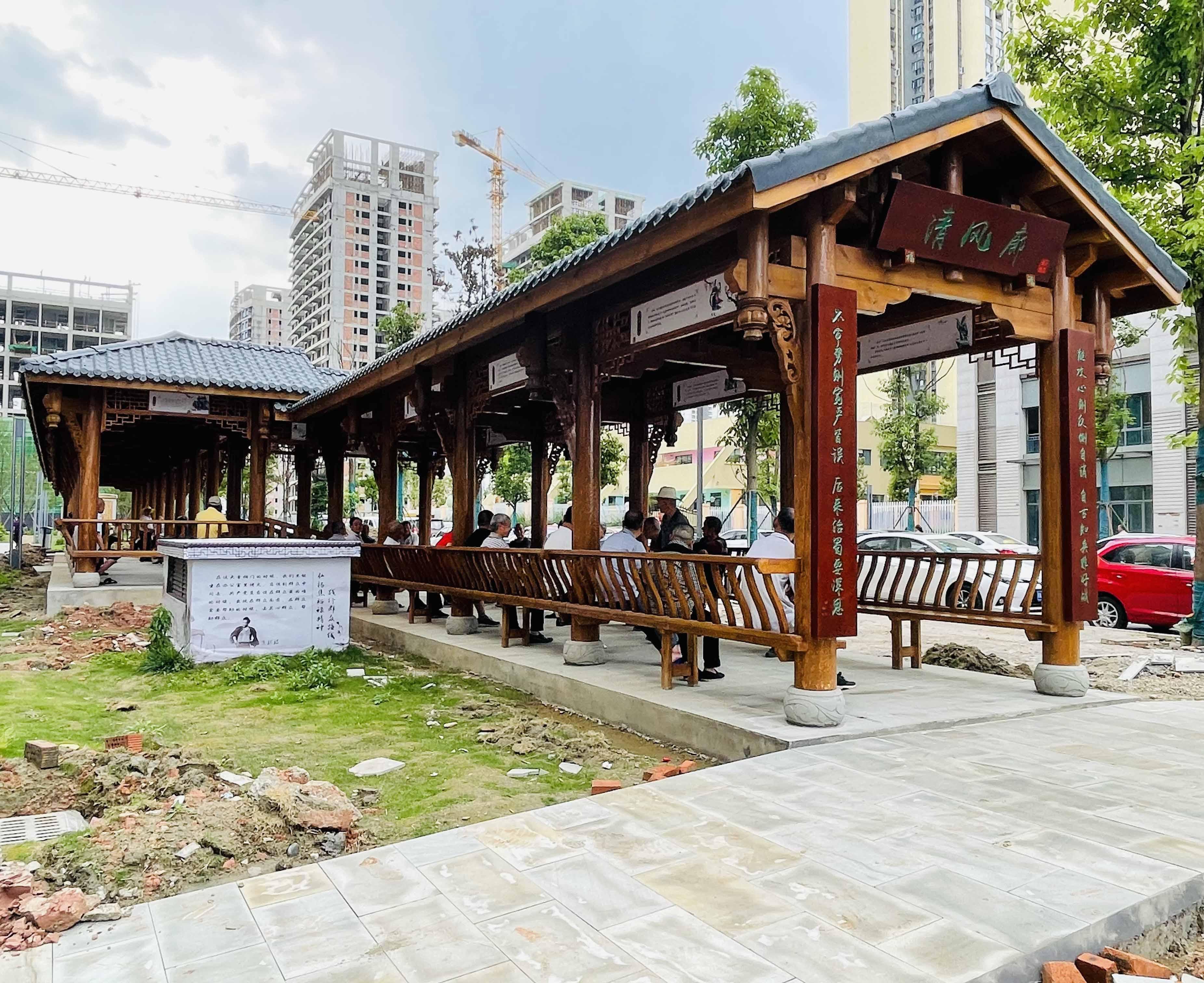 兴隆湖·古建长廊