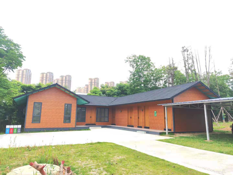 成都环城绿道管理用房·钢结构