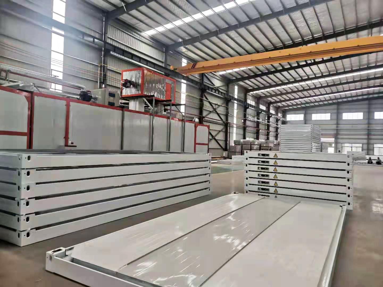 集装箱生产工厂