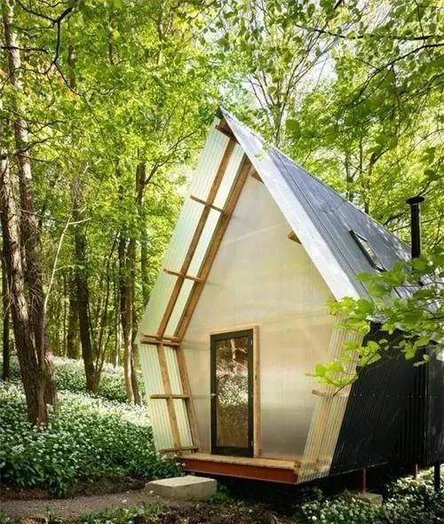 可移动式度假小木屋这样的生活太美好了