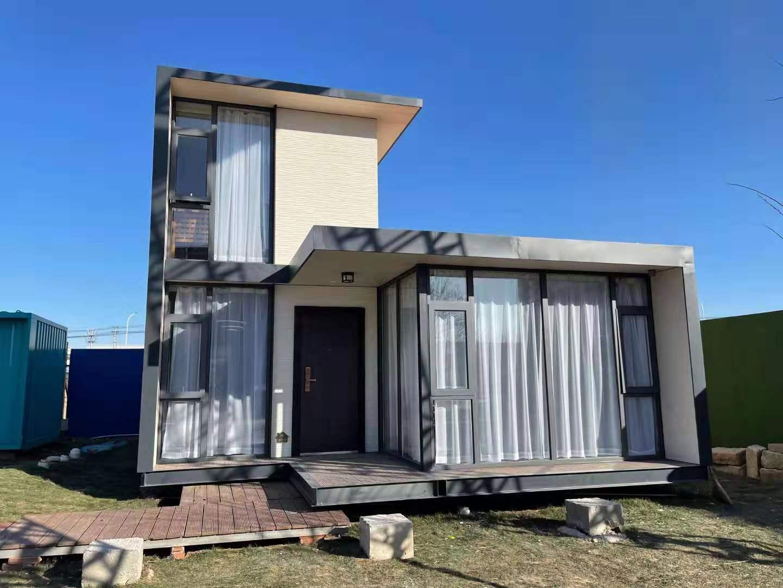 现代风集装箱别墅
