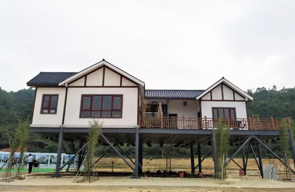 钢木结构农家小院