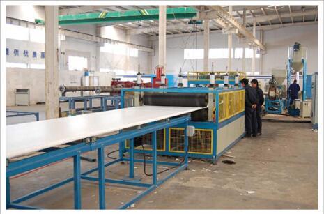 四川挤塑板生产车间