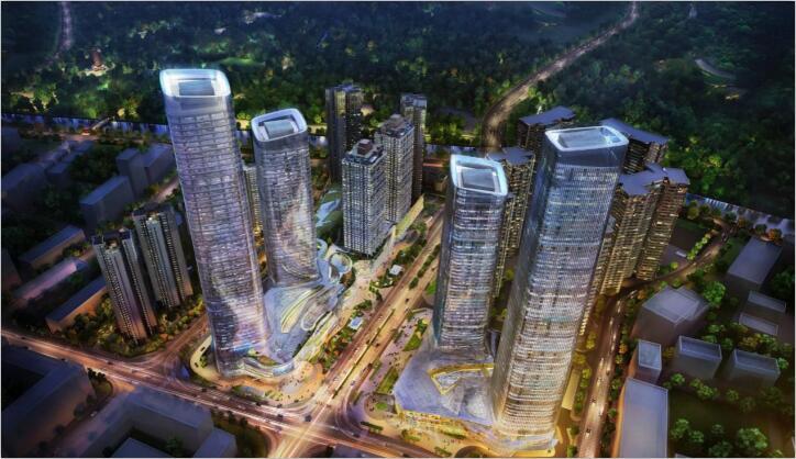 新鸿基环贸广场硅质聚苯板案例