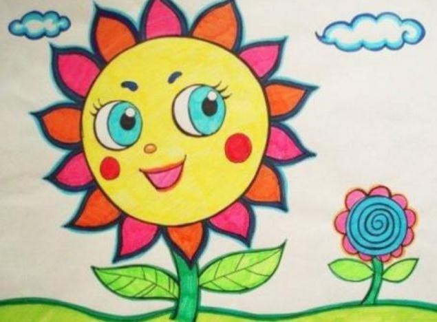 关于少儿的绘画发展过程,下面给大家介绍四个阶段!