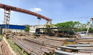 螺栓钢生产厂区展示