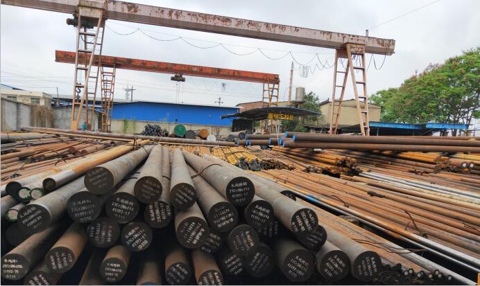 合結鋼生產廠區展示