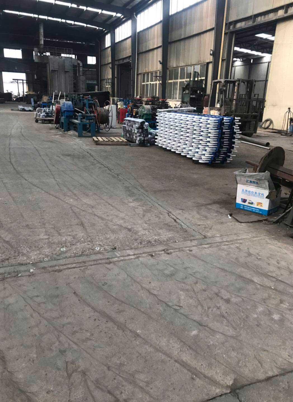 成都铁艺围栏厂区环境