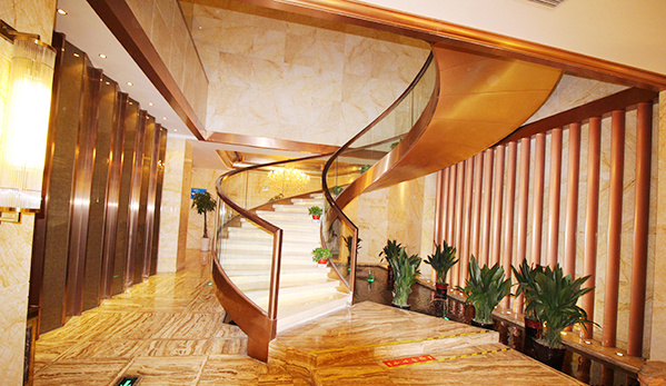 南充钢结构楼梯