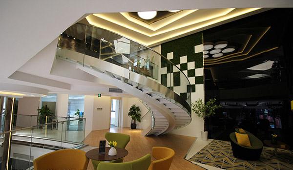 四川弧形楼梯