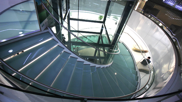成都弧形楼梯