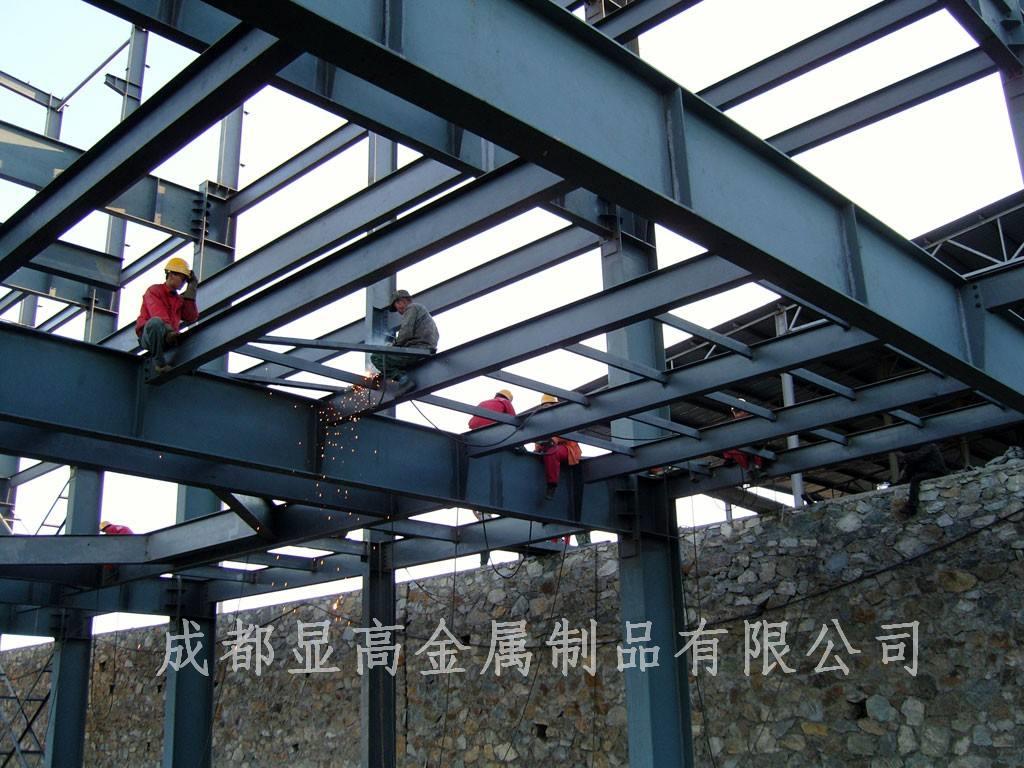 钢结构阁楼施工案例