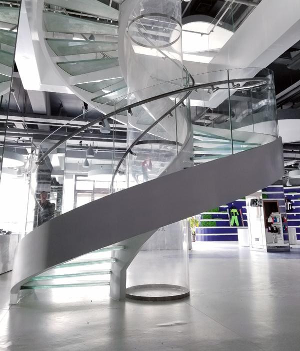 成都玻璃楼梯