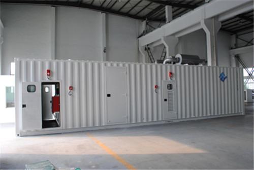 成都集装箱式柴油发电机组