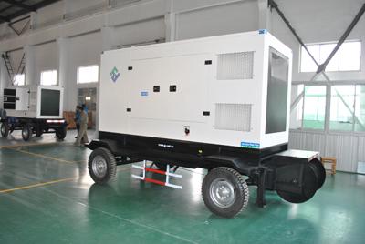 静音移动式柴油发电机组
