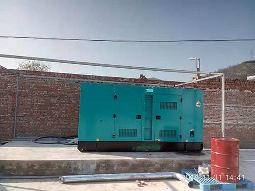 250KW 成都康明斯发电机组陕西顺丰调试