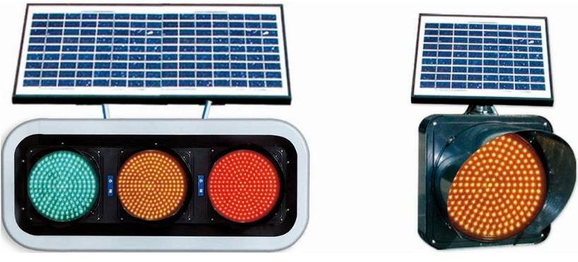 JR太阳能LED信号灯 / 黄闪灯