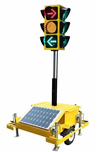 移动式太阳能信号灯 XHJ-AW-YB-R