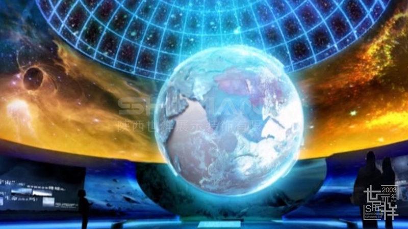 幻影成像与球幕展示系统