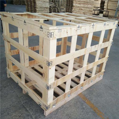 鄭州花格木包裝箱