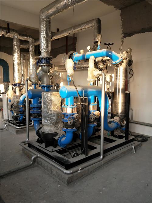 乌鲁木齐米东区中医院板式换热设备投入使用