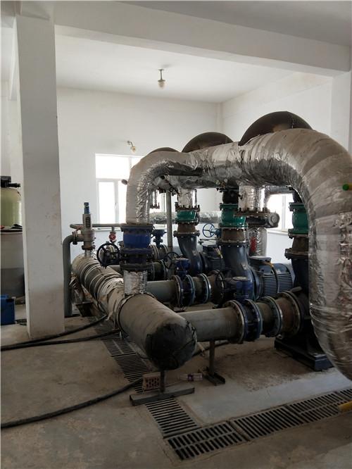 喀什叶城县雪域小区换热设备