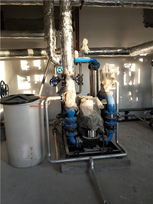 塔城乌苏市润和纺织厂蒸汽换热设备投入使用