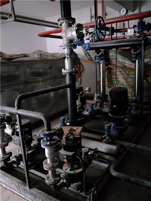 石河子西部天山乳业蒸汽换热设备投入使用