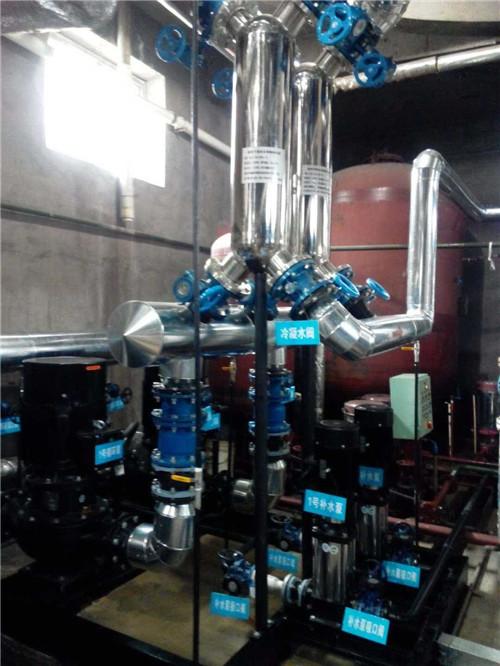 昌吉工业园区蒸汽换热设备投入使用