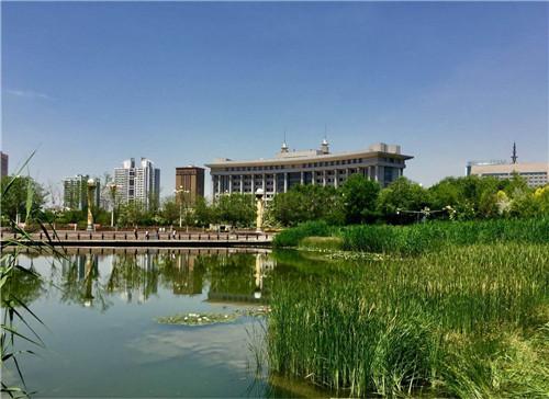 乌鲁木齐市南湖广场景观水处理工程