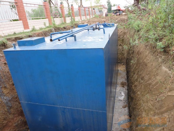 盘点地埋式污水处理设备的五大优点
