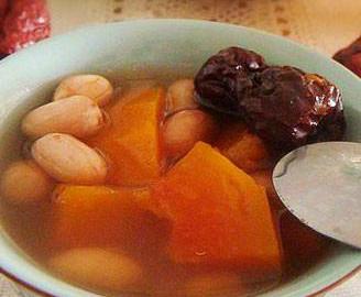 木瓜花生汤