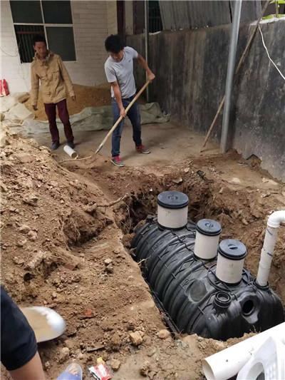 河南PE化粪池施工