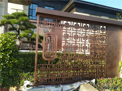 南陽鐵藝圍欄加工