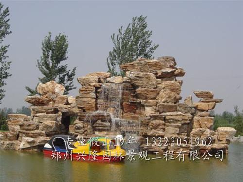 河南自然石假山价格