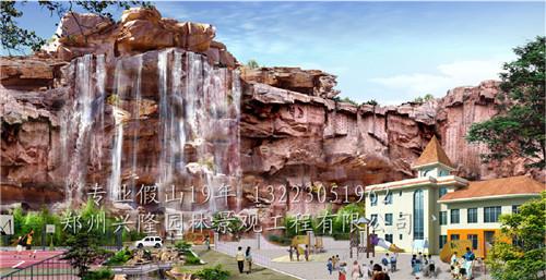 河南塑石假山工程