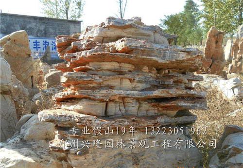 河南假山雕塑工程